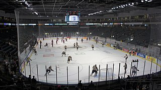 Leons Centre Indoor arena in downtown Kingston, Ontario