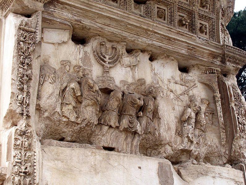Sertorio y Pompeyo antes de Cesar 795px-Rom%2C_Titusbogen%2C_Triumphzug_2