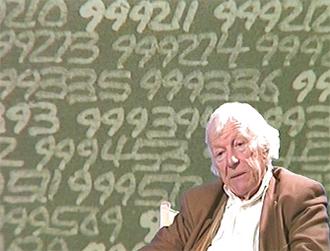 Roman Opałka - Opałka in 1995