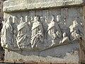 Roman relief, Forum Romanum, Decennalia Base, Rome (2005).jpg