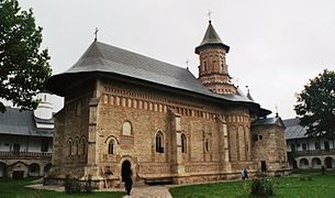 Romania - Neamt monastery 2
