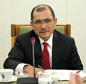 Ronald Kiandee - Ronald Kiandee in the Polish Senate (2013)