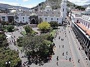 Roof deck (Palacio de Pizarro), Plaza de la Independencia (Quito), pic.aa4