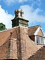 Roof detail on gatehouse, St Mary's School - geograph.org.uk - 906685.jpg