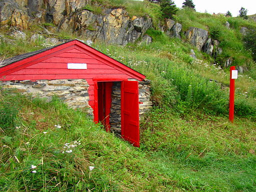 Root Cellar at Bay Roberts Newfoundland