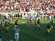 2007 Rose Bowl, USC vs. Michigan; January 1, 2007