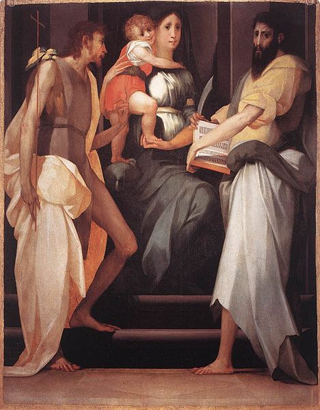 File:Rosso Fiorentino - Madonna Enthroned between Two Saints - WGA20121.jpg