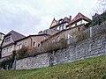 Rothenburg ob der Tauber - Gebäude an der Stadtmauer (West) 3, außen.JPG