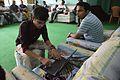 Rounik Ghosh Writing On WMF Etherpad - Wikimedia Meetup - AMPS - Kolkata 2017-04-23 6848.JPG