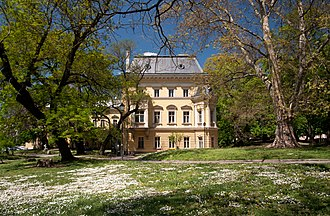 National Art Gallery (Bulgaria) - A view from the royal garden