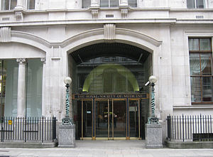 Royal Society of Medicine - The Royal Society of Medicine headquarters, 1 Wimpole Street, London, England.