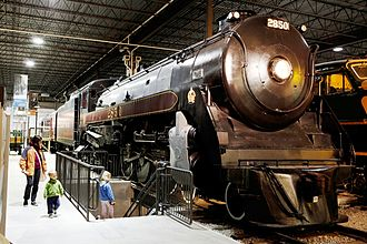 Royal Hudson - No. 2850 in the Canadian Railway Museum