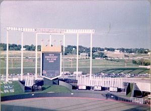 1973 Major League Baseball All-Star Game - View of Royals Stadium during the All-Star Game