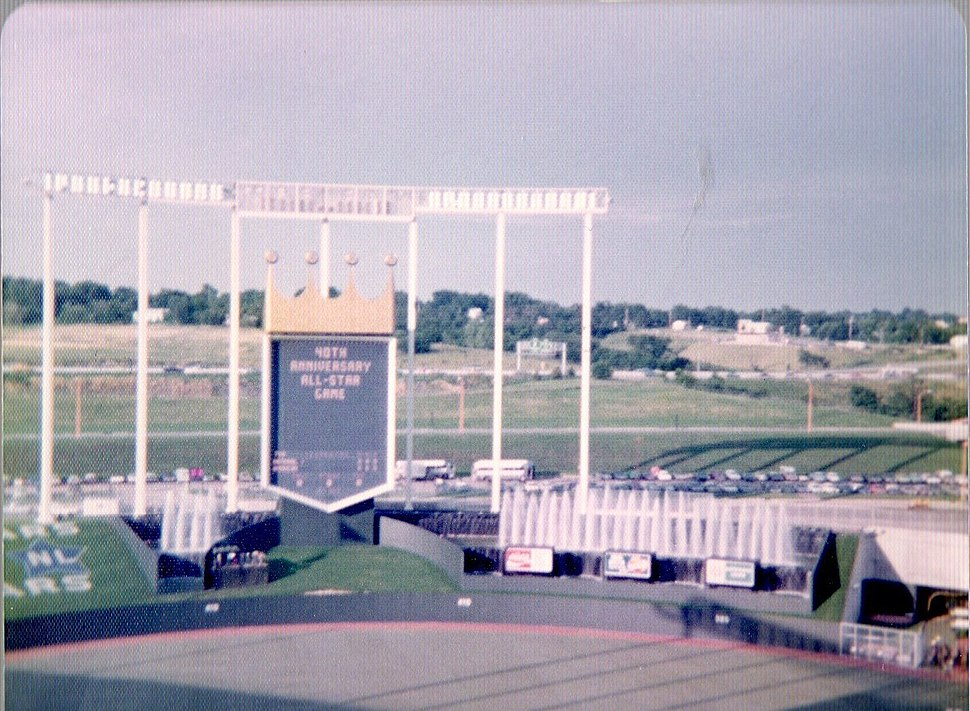 Royals Stadium 1973 All-Star Game