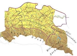 Sanok-Turka Mountains - Mid-Beskid Upland