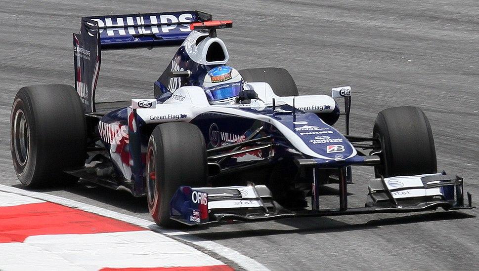 Rubens Barrichello 2010 Malaysia 3rd Free Practice