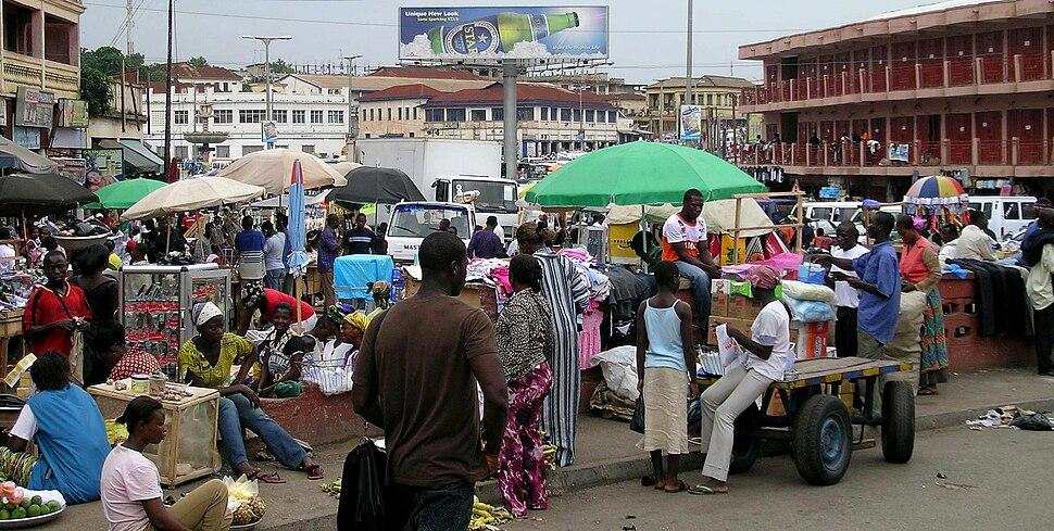 Rue du centre Kumasi
