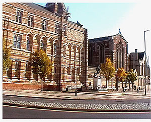 Rugby School - Rugby School from the side