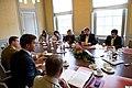 Russische pers in de Blauwe Zaal (6189033666).jpg