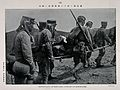 Russo-Japanese War; soldiers carrying wounded men on a stret Wellcome V0015674.jpg