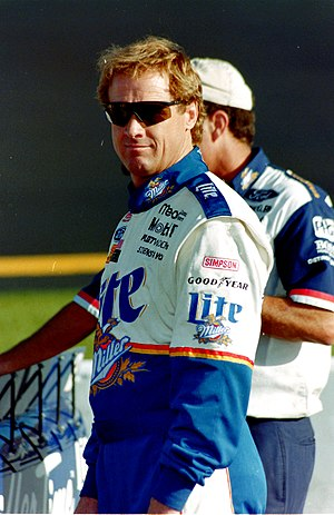 Rusty Wallace - Rusty Wallace in 1997.