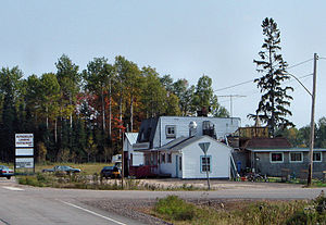 Bonfield, Ontario - Roadside restaurant in Rutherglen