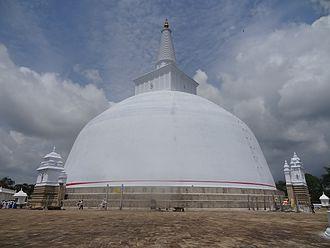 Ruwanwelisaya - Image: Ruwanwelisaya Stupa 23