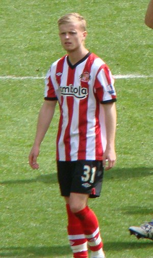 Ryan Noble - Noble playing for Sunderland