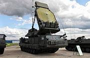 9S32 multichannel missile engagement guidance radar.