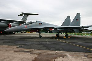 Ambala Cantonment - Sukoi -su 30 Gen 2 at ambala airforce base for show at republic day at Delhi, capital on India
