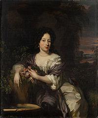 Portrait of Madalena de la Court (1662-1712)