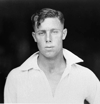Ernest Bromley (cricketer) - Photograph of Bromley by Sam Hood
