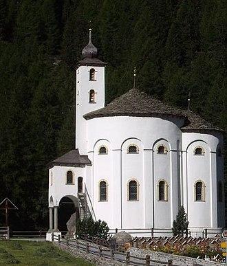 Saas-Balen - Church Saas-Balen
