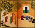 Sadi and the youth of kashgar Bukhara 1547.JPG