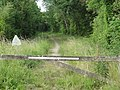 Saint-Christophe-du-Jambet (Sarthe) hameau Les Terres Fortes, ancien chemin de fer (02).jpg