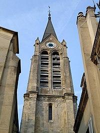 Saint-Leu-la-Foret - Clocher de l eglise Saint-Leu-Saint-Gilles.jpg