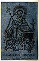 Saint Carlo Borromeo in prayer. Engraving. Wellcome V0048896.jpg
