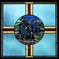Saint Mary Catholic Church (Gatlinburg, Tennessee) - stained glass, the Flight into Egypt.jpg