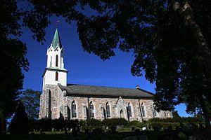 Sakshaug Church - Image: Sakshaug kirke