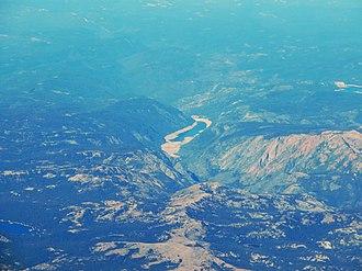 Salt Springs Reservoir - Aerial view