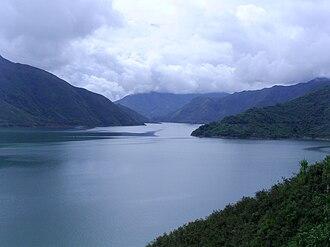 Cauca River - Image: Salvajina