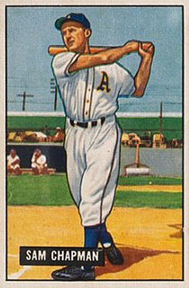 Sam Chapman American baseball player