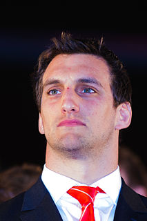 Sam Warburton Welsh rugby union player