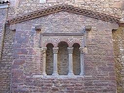 testero original del templo del siglo IX.