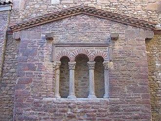Saint Thyrsus - Church of San Tirso in Oviedo.