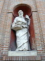San Vitale, facade, statue (2) (Granarolo dell'Emilia).jpg