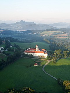 Saint Georges Abbey, Längsee church building in Sankt Georgen am Längsee, Austria