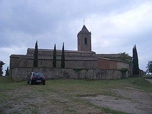 Sagàs - Church of Sant Andreu.