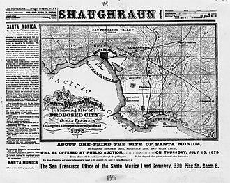 "Seal Beach, California - ""Anaheim Landing"" on an 1875 map."