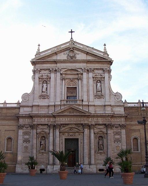Santa Susanna (Rome) - facade